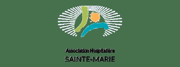 Logo association hospitaliere sainte marie